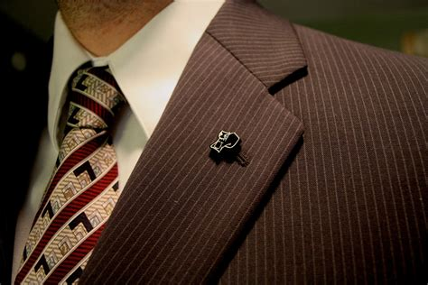 "Lapel Pins in Age of ""What's a Lapel?""  RecognizeThis!"
