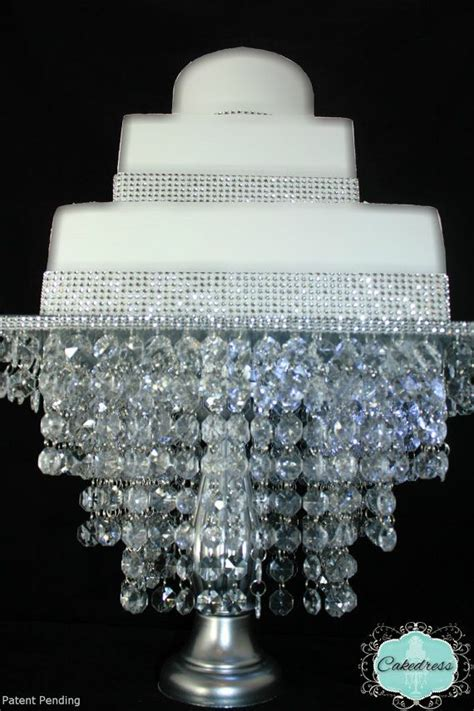 Diy Chandelier Cake Stand Cake Stand Chandelier Style Patent Pending