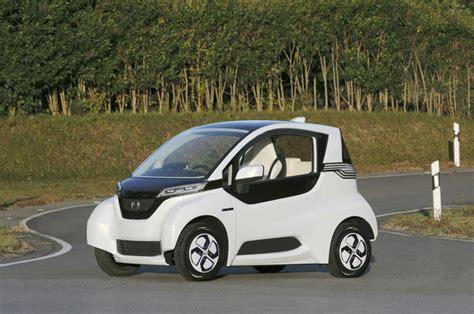 honda electric micro commuter vehicle