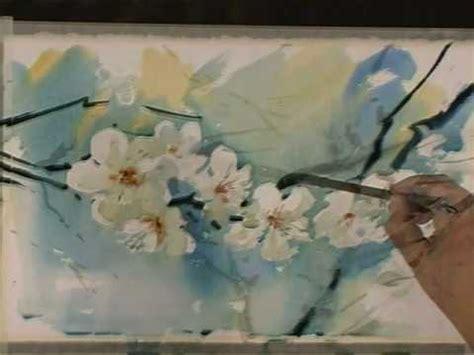 watercolor tutorial flowers youtube spring flowers in watercolor by sterkhov flv youtube
