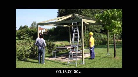 come costruire un gazebo costruire un gazebo in legno in 18 minuti