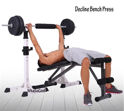 what does decline bench work buy sit up incline decline work bench situp dumbbell bar