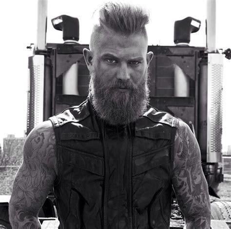 viking mohawk beard and mohawk dapper beards and mustaches pinterest