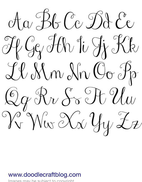printable fonts for tattoos 25 unique handwriting alphabet ideas on pinterest font