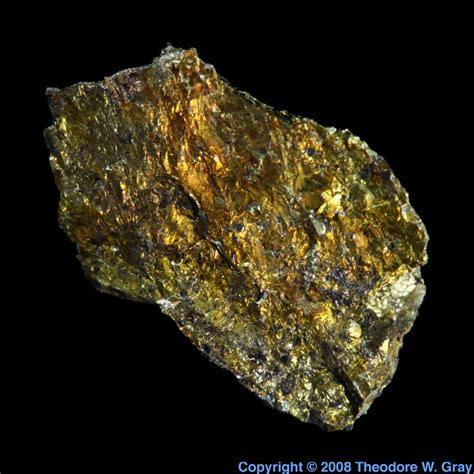 Nb Periodic Table Pentlandite A Sample Of The Element Nickel In The
