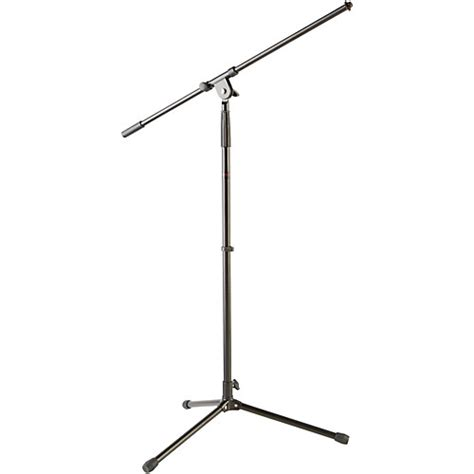 Tiang Mic Mik Microphone Stand Mic Mik Microphone 2 musician s gear tripod mic stand with fixed boom black guitar center