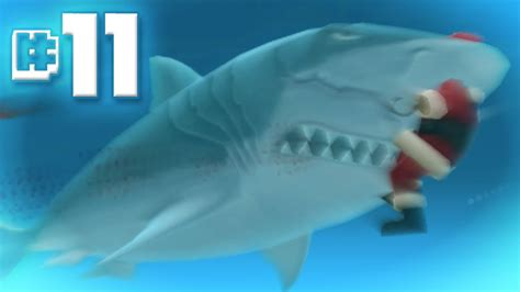 hungry shark evolution megalodon santa dropping bombs eating santa megalodon eats santa hungry shark evolution ep 11 doovi
