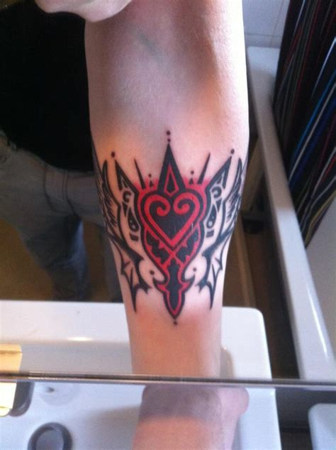 kingdom hearts tattoo by mareax on deviantart