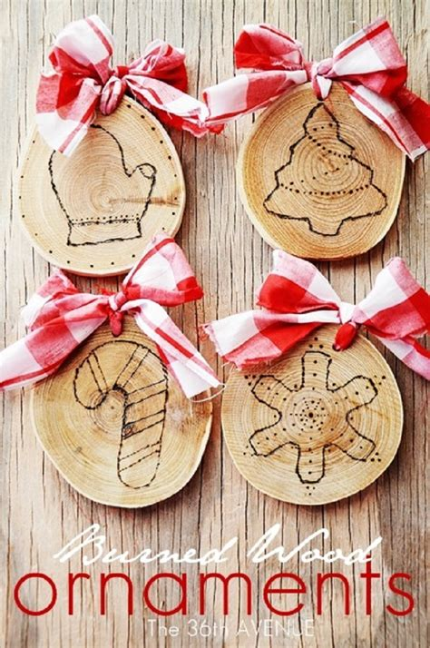 simple xmas wood easy diy decorations ideas