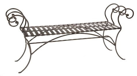 wrought iron bench wrought iron bench ideas for every room artisan crafted
