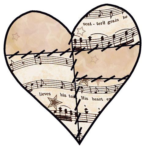 tattooed heart free sheet music music notes heart clip art clipart panda free clipart