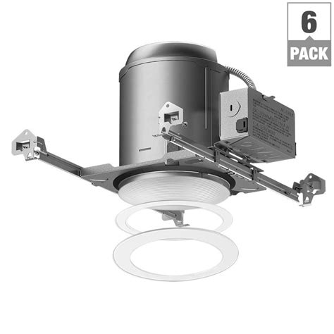 halo recessed lighting housing halo e26 series 6 in white recessed lighting housing for