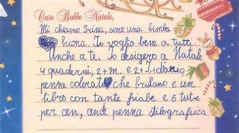 lettere di babbo natale ai bambini lettere a babbo natale scritte dai bambini