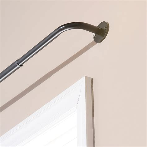 wrap curtain rod wrap around curtain rod home depot home design ideas