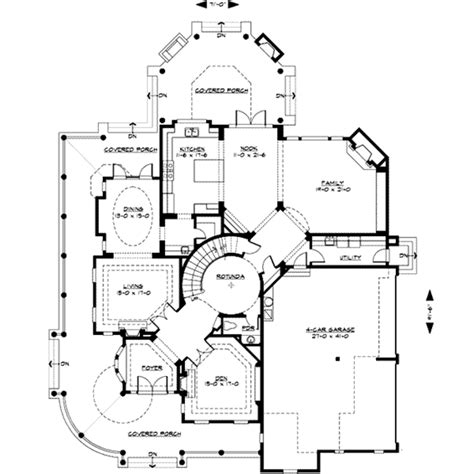 Victorian Style House Plan 4 Beds 4 5 Baths 5250 Sq Ft Plan 132 175
