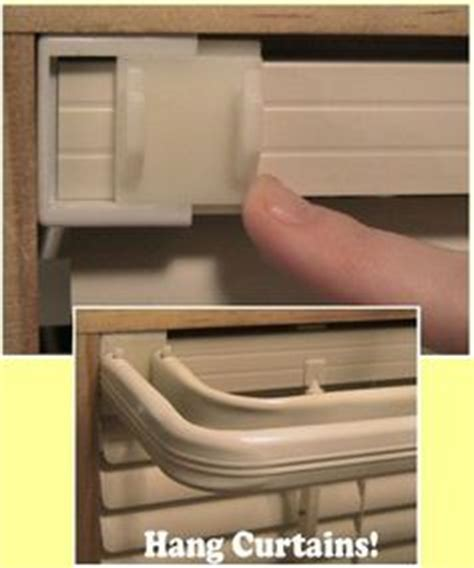 hang stuff without putting holes wall hang a valance without a curtain rod use adhesive velcro