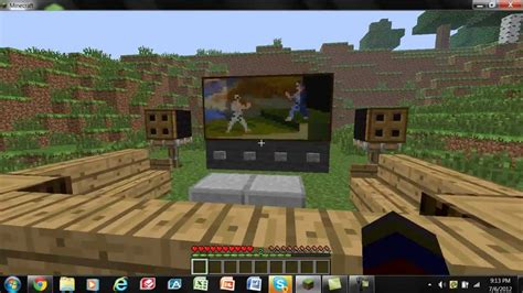 Minecraft Living Room Tv Minecraft Living Room Tv Www Pixshark Images
