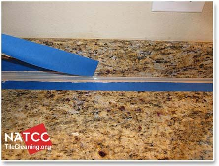 Kitchen Countertops Backsplash professional recaulking procedure for granite countertops