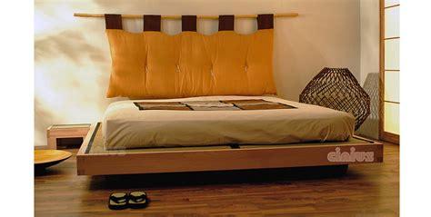 giapponesi a letto letto di cinius struttura sospesa in legno massello