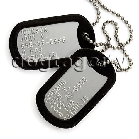 navy tags tags used by army soldiers