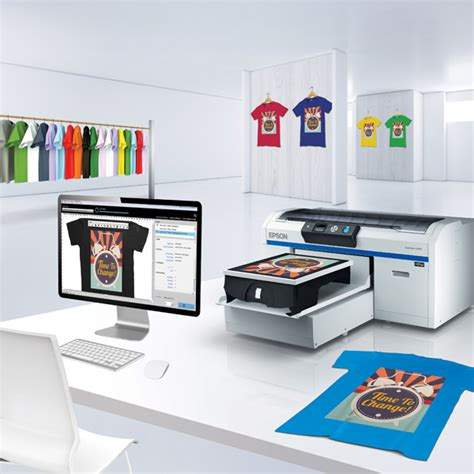 Printer Dtg Epson Surecolor Sc F2000 epson debuts fabric printers surecolor f7170 and sc f2000