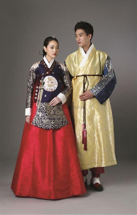 Baju Norden korea pre wedding photo korean traditional clothes
