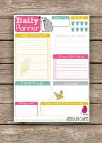 Cute Planner Templates Free Cute Planner Templates Calendar Template 2016
