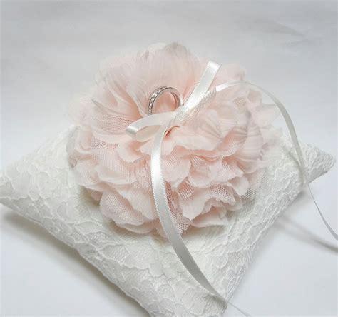 ring pillow blush ring pillow ring bearer pillow wedding ring pillow