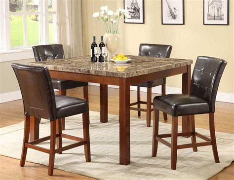 counter height dining table economical style interior