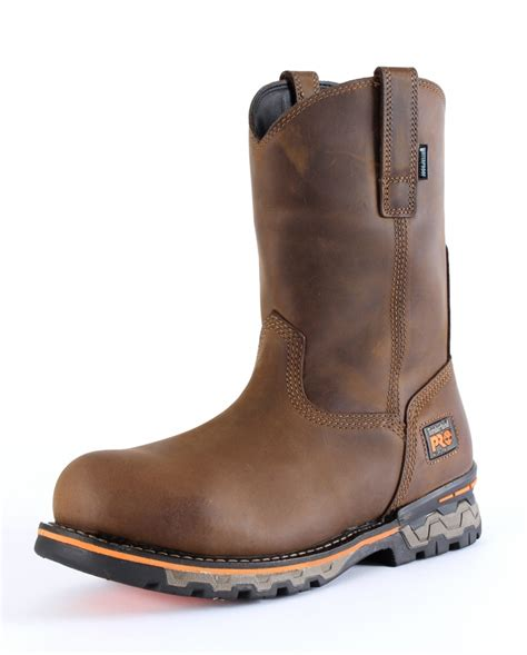 pull on boots timberland pro 174 s ag alloy toe pull on waterproof