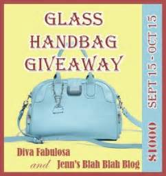 The View Purse Sweepstakes - glass handbag giveaway ends 10 15 swanky point of view