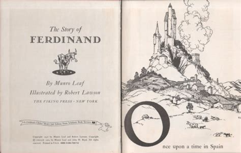 the of ferdinand books 1930s books the story of ferdinand page