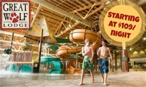 Great Wolf Lodge Gift Card Deals - top deals this week free toothpaste blue man group tickets more southern savers