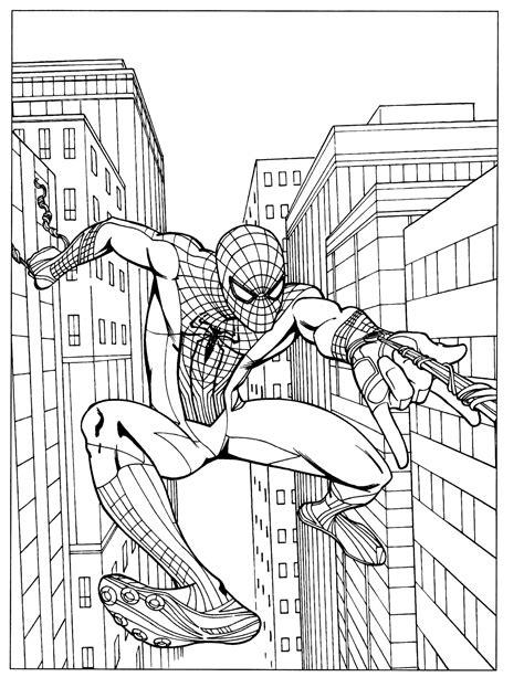 Spider Man 53 Coloringcolor Com Coloring Book Spiderman2