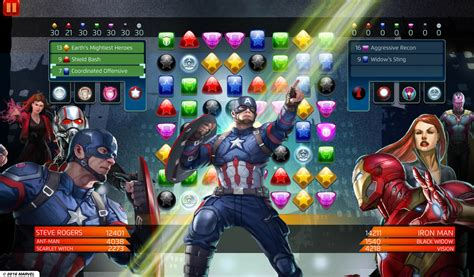 pick  side   civil war  marvel puzzle quest imore
