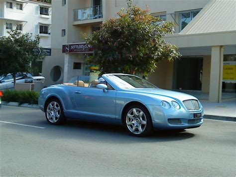 baby blue bentley bentley continental review and photos