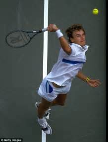 Mats Wilander Tennis by Sporting Birthdays August 22 Daily Mail