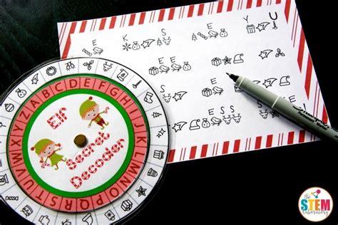 printable elf decoder elf secret message decoder the stem laboratory