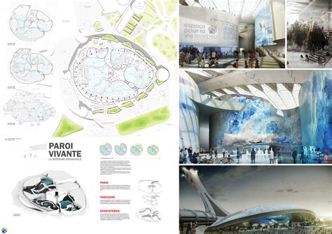 design competition presentation gallery of azpml and kanva reimagine montr 233 al s biodome in