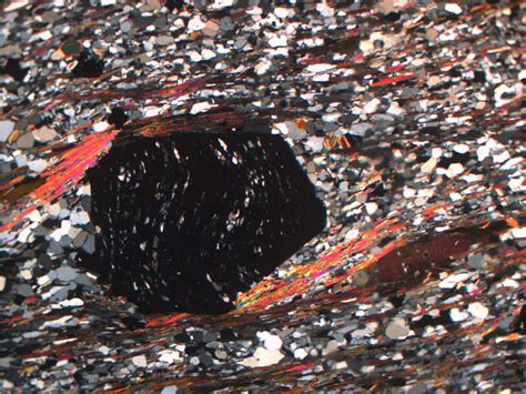 metamorphic thin section textures geology word of the week f is for fabric georneys agu