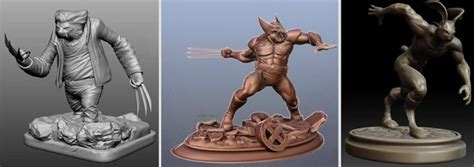 impressions where themes come true when 3d characters come true zbrush sculpteo competition
