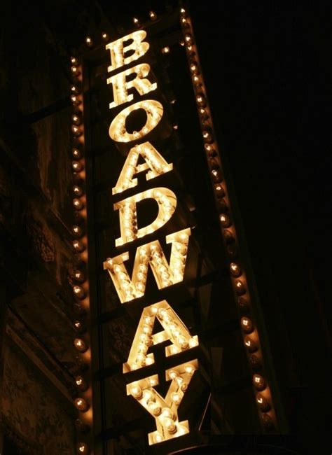 Broadway Lights by All That Jazz I M A Broadway Baby