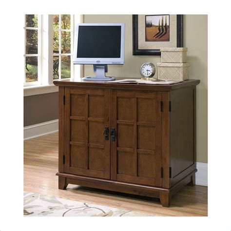 Compact Computer Cabinet by Home Styles Arts Crafts Compact Cabinet Cottage Oak