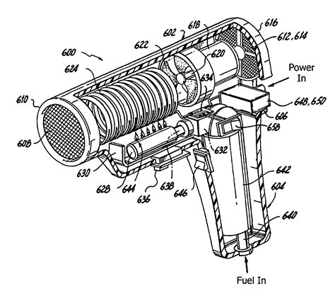 Hair Dryer Exploded View patent us7913416 portable hair dryer optimally a