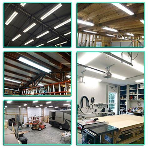 linkable led lights linkable led utility shop light 4ft 4800 lumens