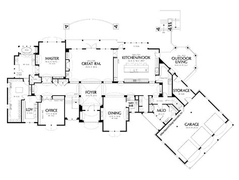 luxury home designs amazing house floor plan large garage