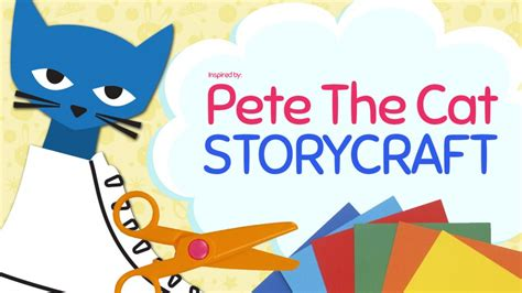 pete the cat craft activity printables crafty pammy