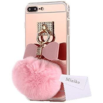 Casing Iphone 5 Bunny mirror iphone 7 plus for