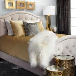 Grey And Gold Curtains Decorating 17 Best Ideas About Gold Bedroom Decor On Gold Bedroom Gold Room Decor And White