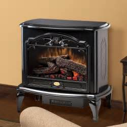 Dimplex celeste black purifire electric fireplace stove with remote